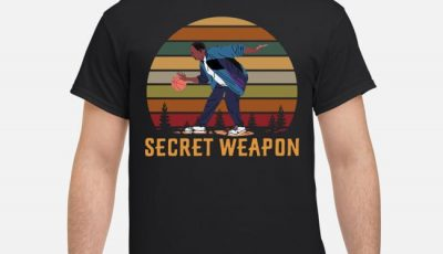 Stanley Hudson Basketball Secret Weapon Vintage Retro shirt