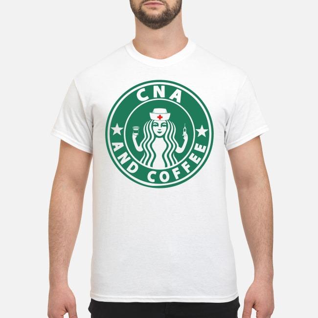 Starbuck CNA and coffee shirt