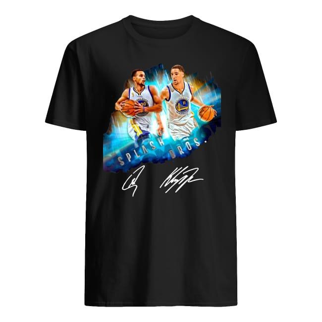 Super Splash Bros Klay Thompson Stephen Curry signature shirt
