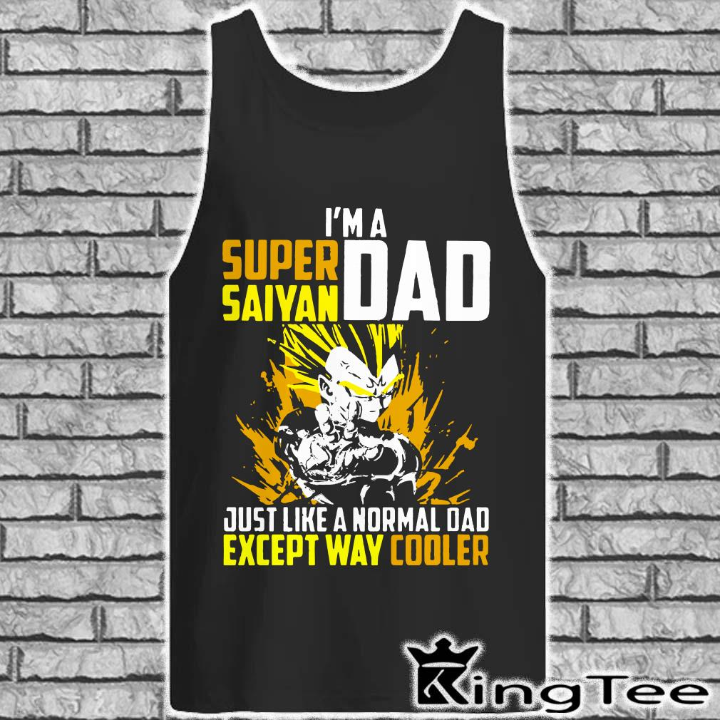 5ae657c30 I'm a Super Saiyan Dad except way cooler shirt, ladies and hoodie