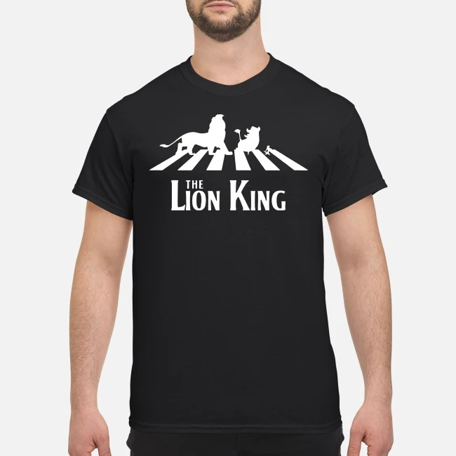The Lion King Group Of Friends Crossing The Street Shirt