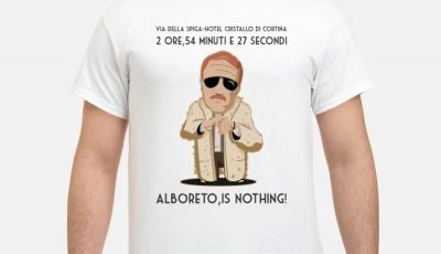 Via Della Spiga Hotel Cristallo Di Cortina Alboreto Is Nothing Shirt