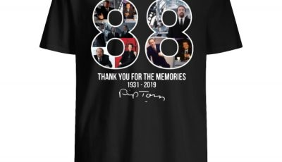 88th Rip Torn thank you for the memories signature shirt