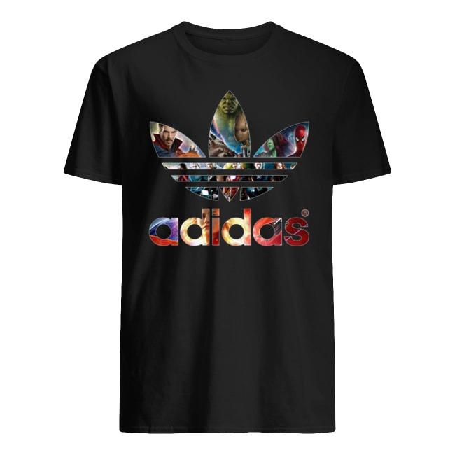 Adidas Marvel Avengers Superhero shirts