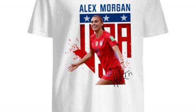 Alex Morgan USA signature shirt
