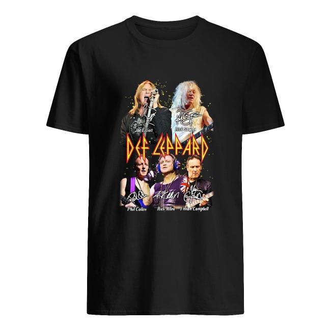 Def Leppard signatures Shirt