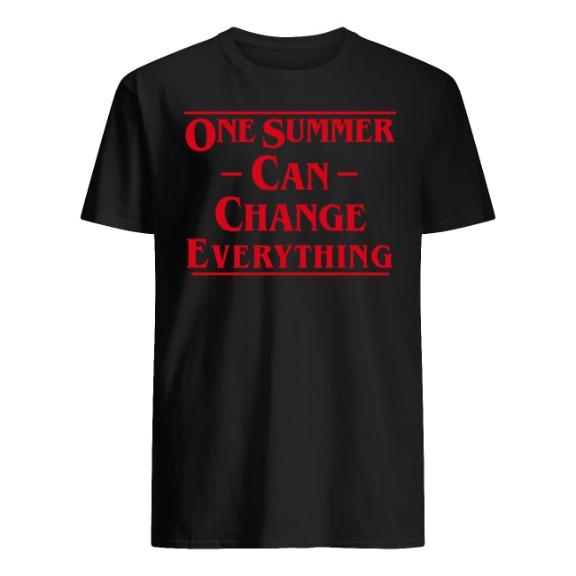 One Summer Can Change Everything Stranger Things Shirt