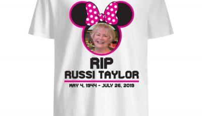 RIP Disney Legend Russi Taylor 1944 2019 Shirt