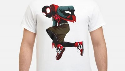 Spider-Verse Miles Morales shirt