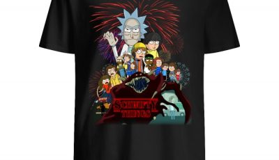 Stranger Things 3 Rick And Morty Schwifty Things Character Shirt