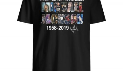 Thank you for the memories Michael Jackson 1985 2019 signature shirt