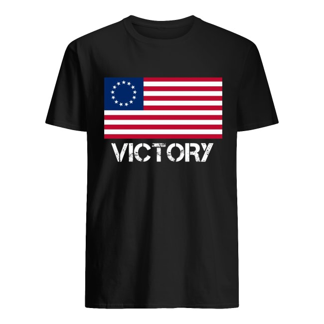 USA Betsy Ross Flag Victory Shirt