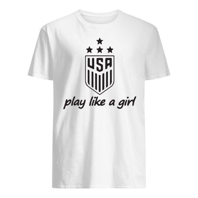 Usa Champions Play Like A Girl Shirt