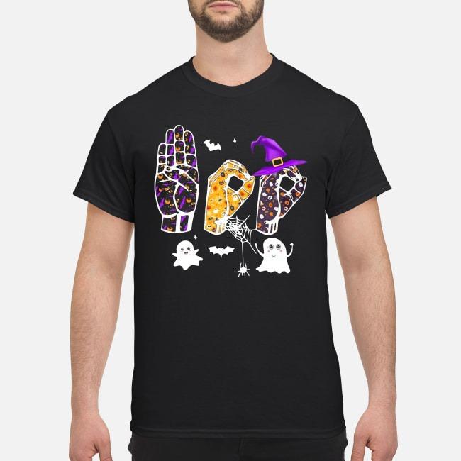 Asl Boo Halloween Shirt