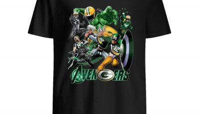 Avengers Green Bay Packers Shirt