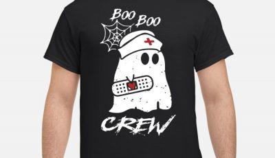 Boo Boo Crew Nurse Halloween Shirt