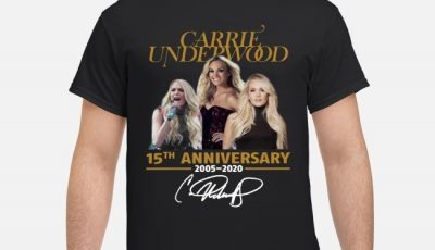 Carrie Underwood 15th anniversary 2005-2015 shirt