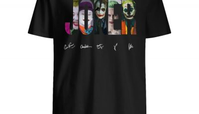 DC Comics The Joker signature shirt