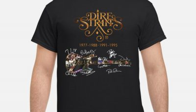 Dire Straits 1977-1988 1991-1995 Signatures Shirt