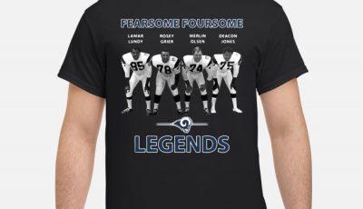 Fearsome Foursome Football Legends Shirt