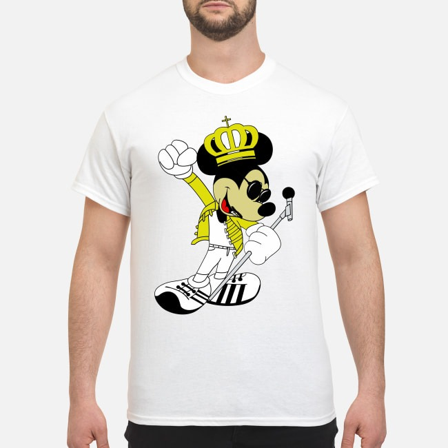 Freddie Mercury Queen Mickey Mouse Shirt