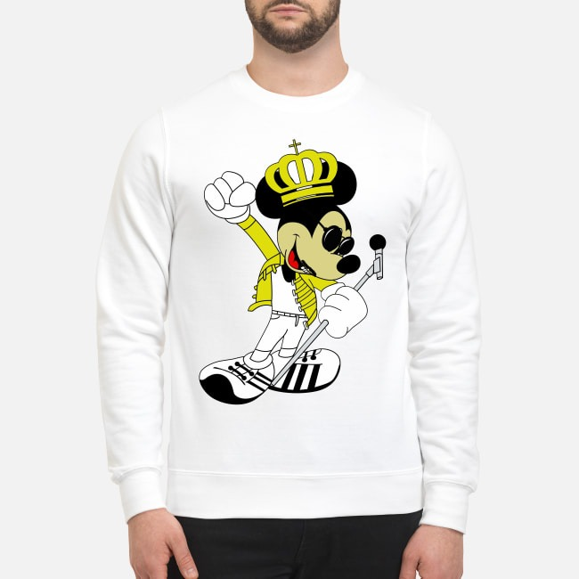 Freddie Mercury Queen Mickey Mouse Sweater