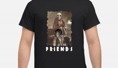 Friends Horror Jigsaw Freddy Krueger Pennywise Creepy Shirt