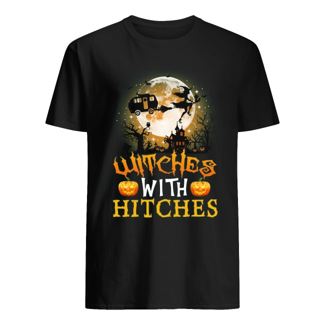 Halloween Camping Witches With Hitches Shirt