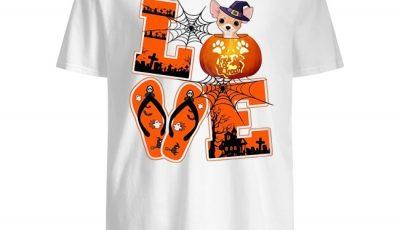 Halloween Love Chihuahua Shirt