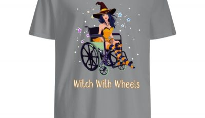 Halloween Witch with wheels shirt