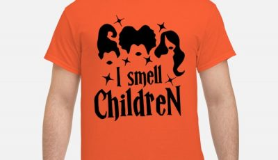 Hocus Pocus I Smell Childen Shirt