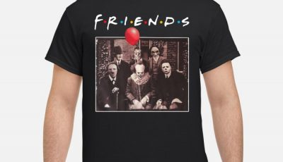 Horror Character Friends Halloween Shirt