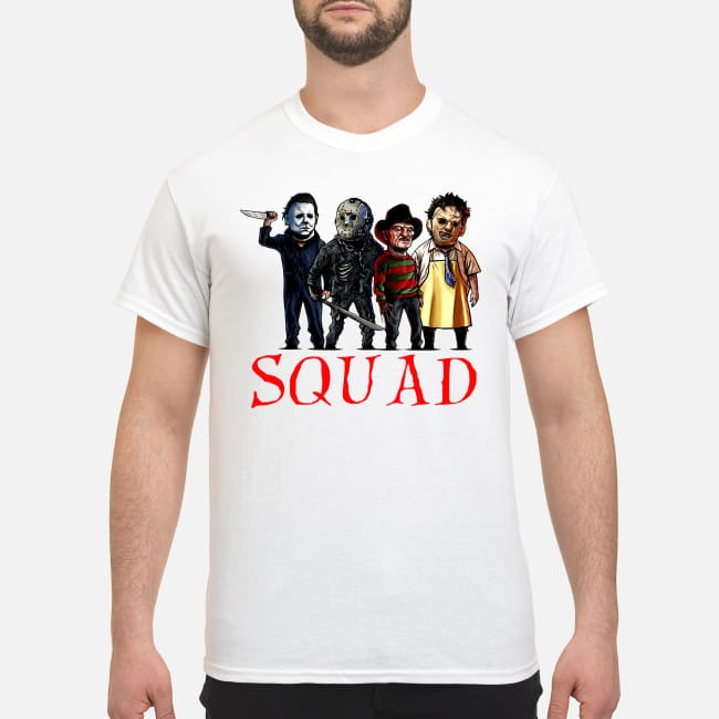 Horror Character Squad Halloween Shirt