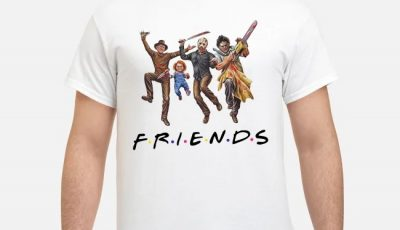 Horror Halloween FRIENDS 2019 Shirt