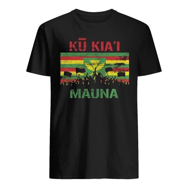 Kanaka Maoli Flag We Are Mauna Kea Ku Kiai Mauna Shirt