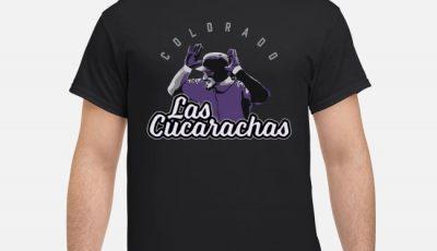 Las Cucarachas Nolan Arenado Colorado shirt