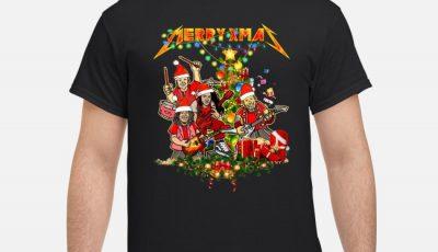 Metallica Merry Xmas Christmas Tree Shirt