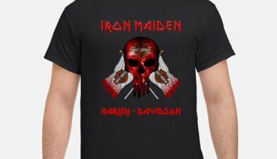 Metallica Punisher Iron Maiden Harley Davidson Shirt