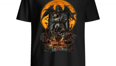 Motley Crue Jack Skellington Halloween Shirt