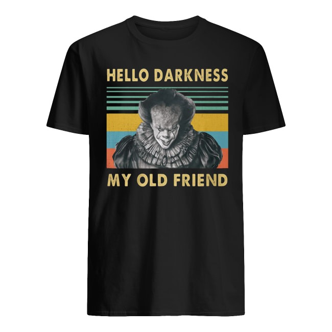 Pennywise Hello Darkness My Old Friend Vintage Shirt