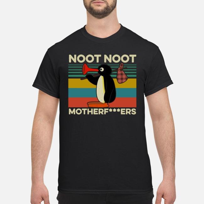 Pingu Noot Noot Motherf-ers Vintage Shirt