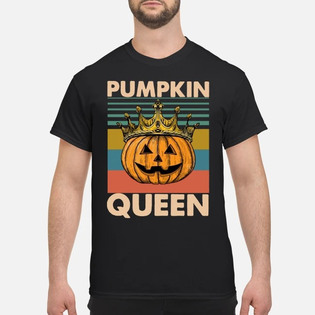 Pumpkin Queen Halloween Vintage Shirt