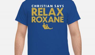 Relax Roxane Christian Yelich Shirt