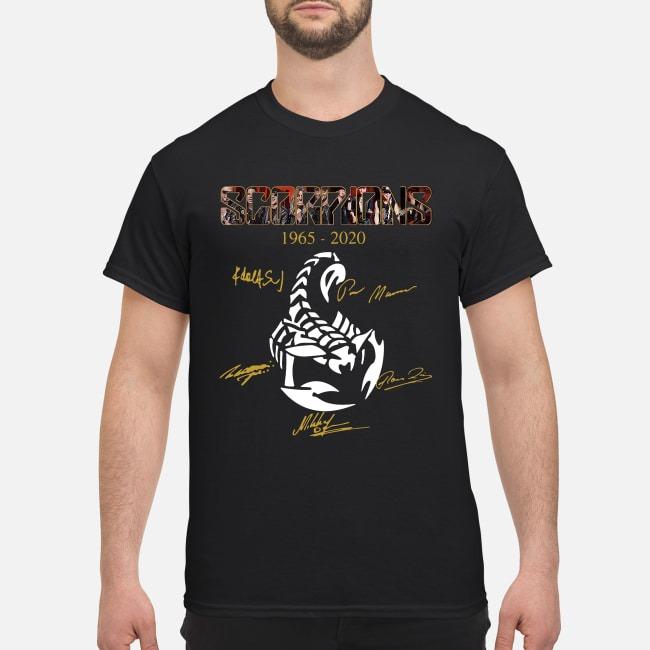 SC Scorpions Memories 1965 2020 Signatures Shirt