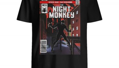 Spider-Man far from home The Night Monkey comics shirt