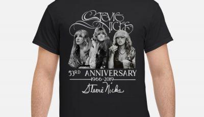 Stevie Nicks 53rd Anniversary 1966-2019 Signature Shirt