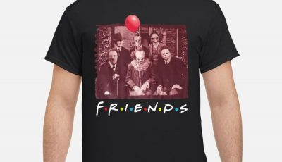 Team Horror Friends Halloween Funny Shirt