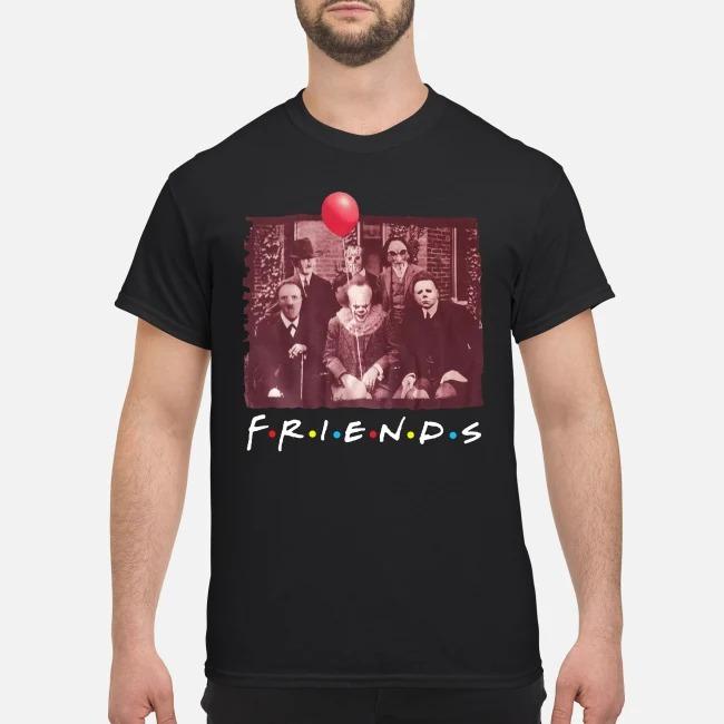 Team Horror Friends Halloween Funny Shirt