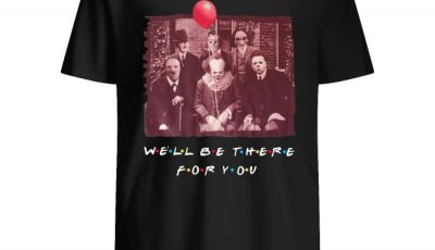 Team Horror Friends We'll Be There For You Halloween Shirt