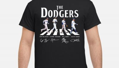 The Dodgers The Beatles Signature Shirt